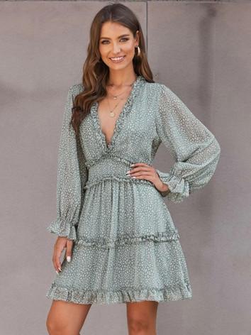 Mint Mini Maternity Dress - Client Wardr