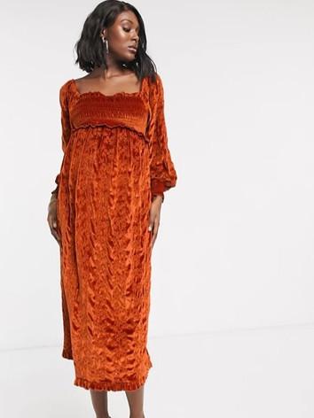 Luxe Maternity Dress - Client Wardrobe.j