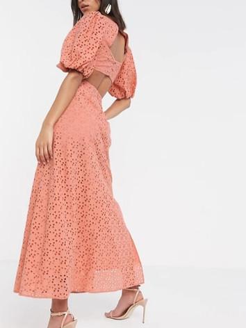 Pink Luxe Maxi Dress - Client Wardrobe.j