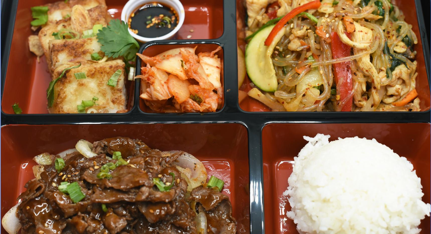 Beef Bulgogi & Spicy Noodle