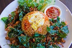 Siracha Fried Rice