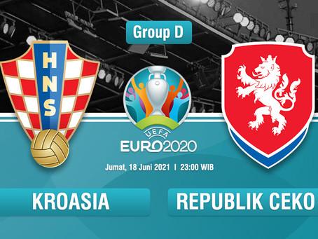 Prediksi Euro 2020 Kroasia Vs Republik Ceska: Berharap Banyak pada Modric dan Perisic