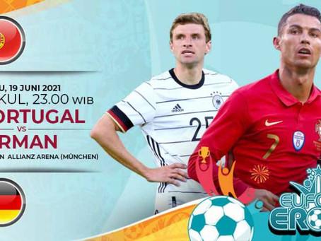 Prediksi Euro 2020 Portugal Vs Jerman: Duel Intens dan Panas di Grup Neraka