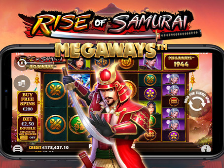 PRAGMATIC PLAY BERTARUNG UNTUK KEKAYAAN DALAM RISE OF SAMURAI MEGAWAYS™