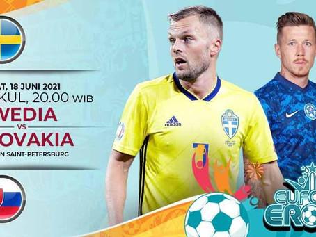 Prediksi Euro 2020 Swedia Vs Slovakia: Duel Dua Tim Underdog