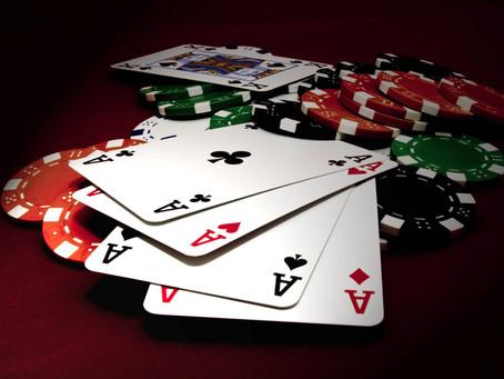 Kartu dan modal pemain judi