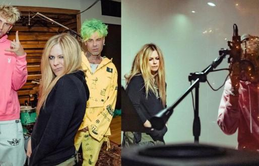 Avril Lavigne ve Machine Gun Kelly Yeni Müzik Kaydediyor!