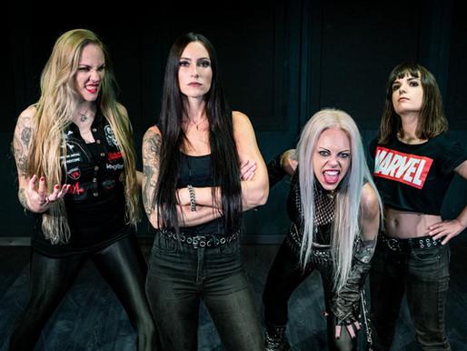 NERVOSA Röportajı: Diva Satanica, Grubun Yeni Albümü 'Perpetual Chaos'u Kritikzine'de Tartışıyor!