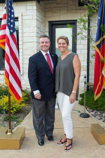 Tim O'Hare Tarrant County GOP Precinct Chair Appreciation Dinner