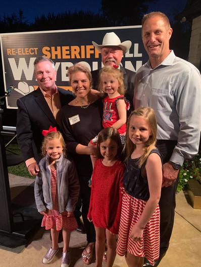 Supporting Sheriff Bill Waybourn