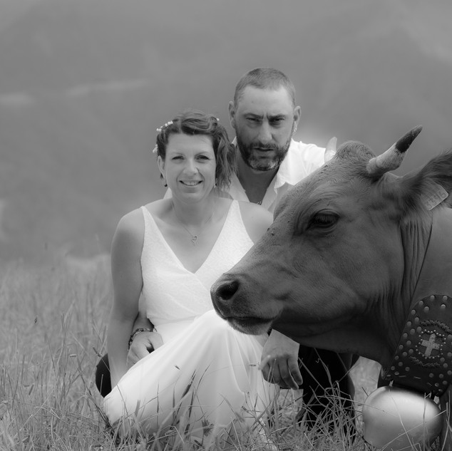 Mariage d'agriculteurs