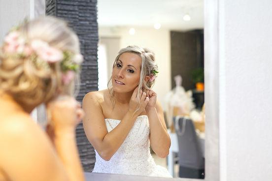 mariée miroir