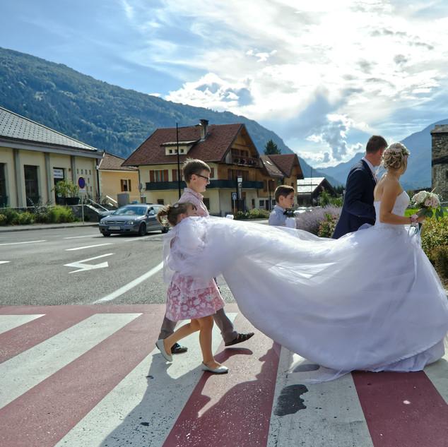 traversée des mariés