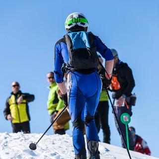 Skieur alpiniste