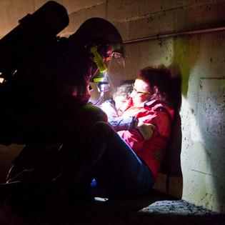 Sauvetage en tunel