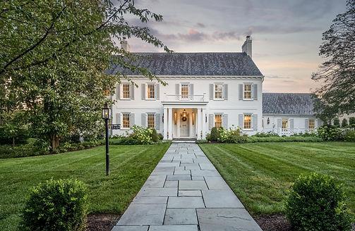 Luxury Real Estate and Architectural Twilight Photo Bethesda, Maryland
