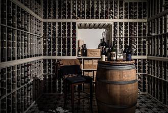 architectural and interior design photo: beautiful wine cellar, bethesda, maryland
