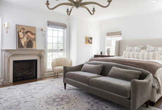 architectural and interior design photo: beautiful bedroom, bethesda, maryland