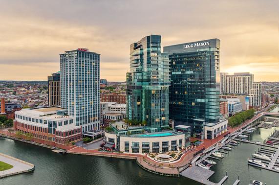 Legg Mason-Baltimore-Sunrise-Aerial