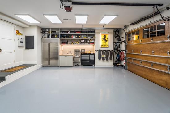 architectural and interior design photo: beautiful garage, bethesda, maryland