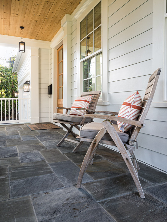 architectural and interior design photo: beautiful front porch, bethesda, maryland