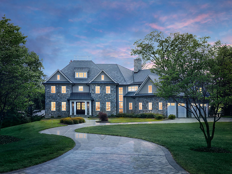 residential architectural photography photograph in pasadena maryland