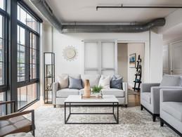 architectural and interior design photo: beautiful living room, washington d.c.
