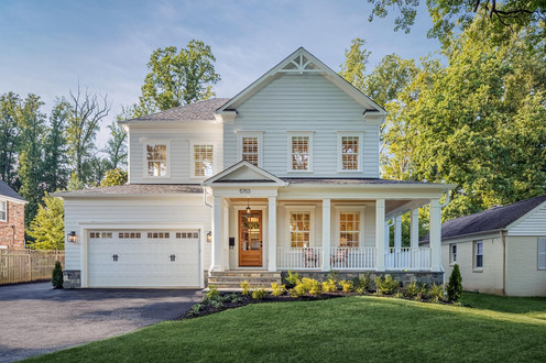residential architectural exterior photography image
