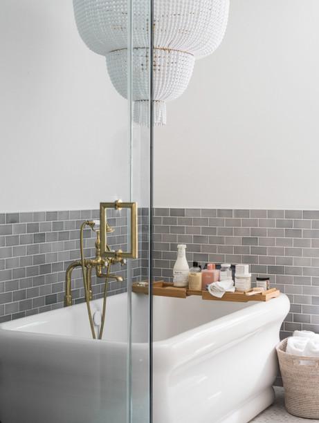 architectural and interior design photo: beautiful bathroom, bethesda, maryland