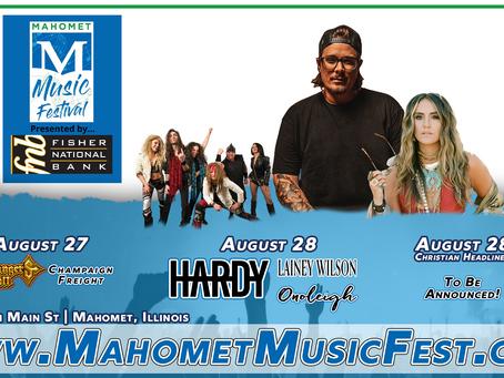 2021 Mahomet Music Festival