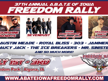 2021 ABATE FREEDOM RALLY