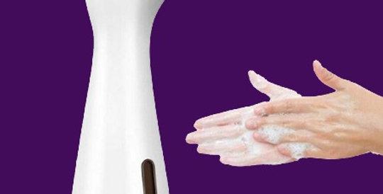 Automatic Soap Dispenser Infrared Sensor Sanitizing Machine