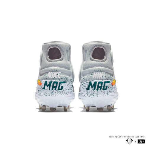 "cheap for discount 11e26 04749 KDxEM WEEK 22  ""Air MAG"" Nike Alpha Huarache Elite 2 Metal Baseball Cleats.  Step into the future in these Air MAG-inspired Huarache spikes!"