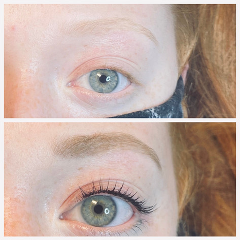 Lash Lift and Tint and Brow Tint