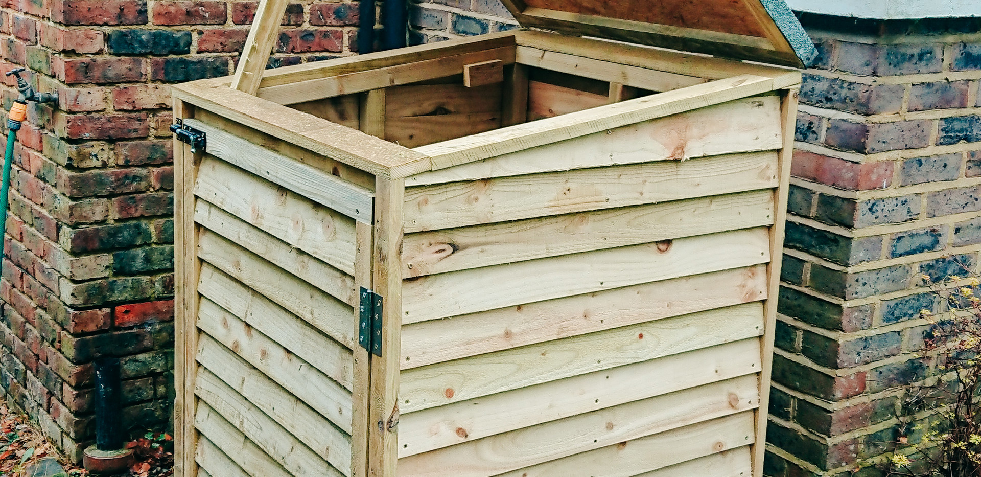 custom timber external storage