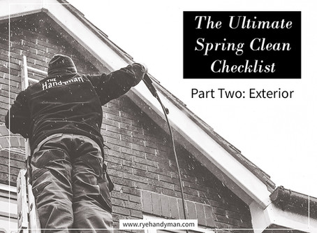 The Ultimate Spring Clean Checklist (Part 2 – With Free Printable!)
