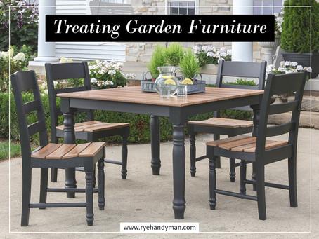 Treating Wooden Garden Furniture