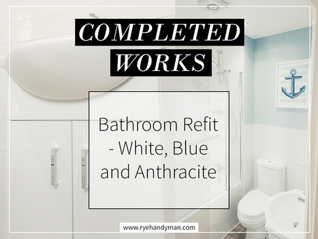 Completed Works: Bathroom Refurbishment 1