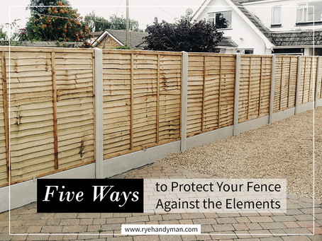 Five Ways to Protect Your Fence Against the Elements