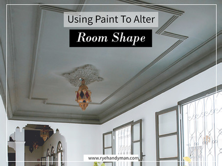Using Paint To Alter A Room Shape