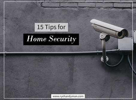 15 Tips for Home Security