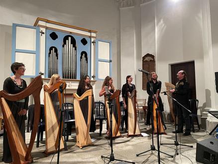 Concerto dell'Ensemble di Arpe dell'Accademi