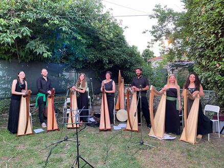 Ensemble di Arpe Celtiche dell'Accademia