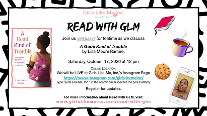 Read with GLM 1 2020-2021 Good Trouble F