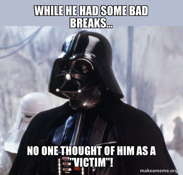 Darth Vader and cancel culture