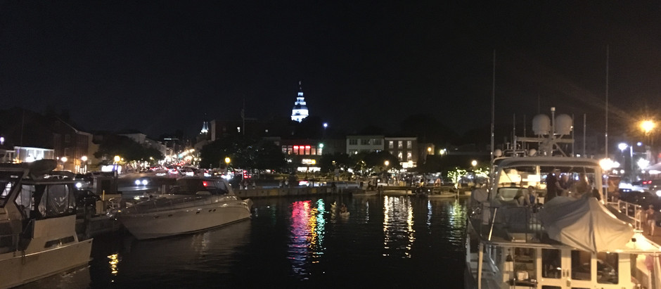 A Beautiful Night in Annapolis!