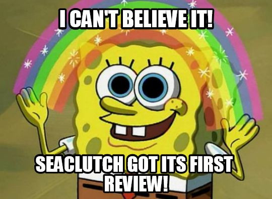 SeaClutch has its first online review!