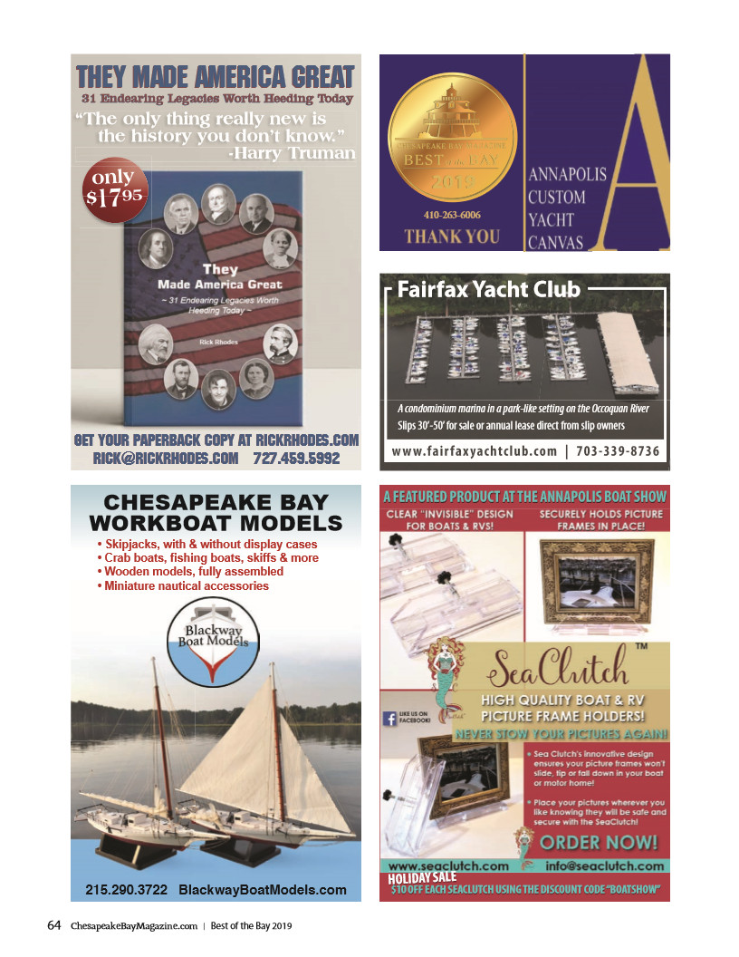 SeaClutch boat, yacht, RV, picture frame