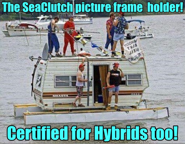 Yacht, boat, RV, Picture Frame Holder
