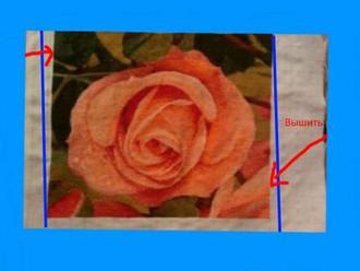 Нестандартный способ борьбы с перекосом ткани.